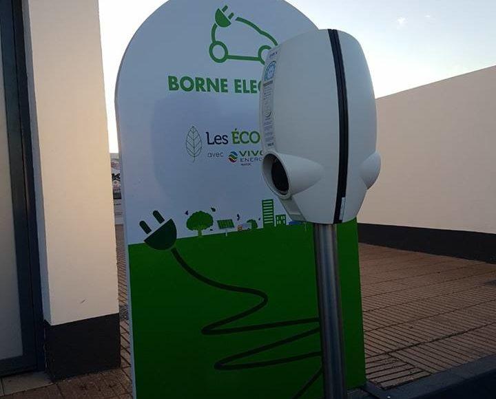 borne recharge voiture electrique maroc