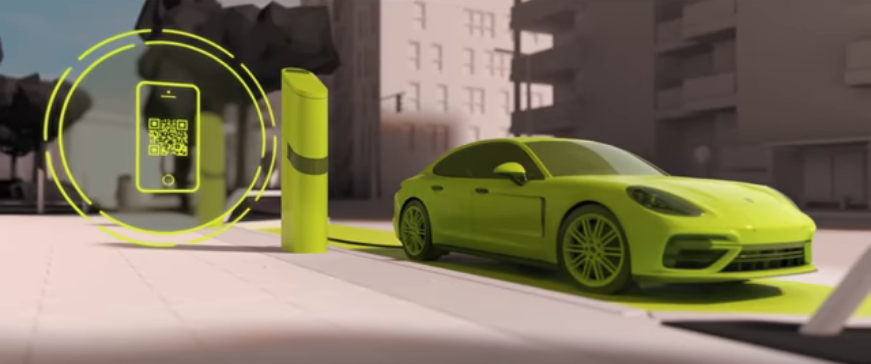Localisation by Porsche charging service