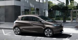 Renault Zoe vue latérale