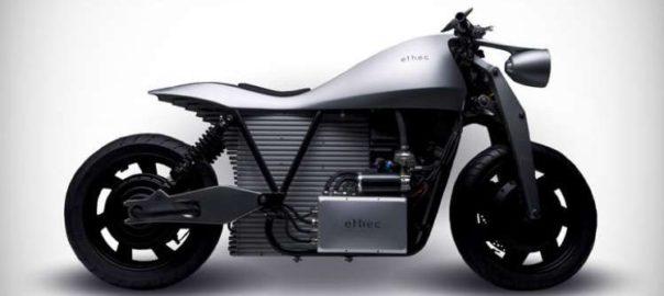 Ethec : Une moto électrique à 400 kilomètres d'autonomie