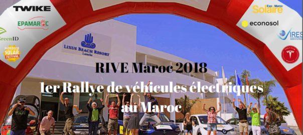 Rive Maroc 2018 : le premier rallye de véhicules électriques au Maroc lance sa deuxième édition