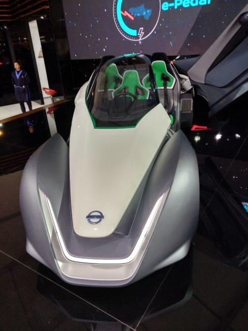 voiture elecrique maroc Nissan BladeGlider