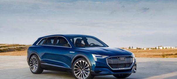 Audi e-Tron : le premier véhicule 100% électrique de la marque bat un record de vitesse de chargement